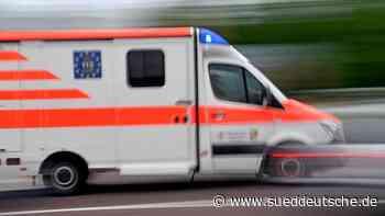 Zwei Verletzte bei Verkehrsunfall auf Autobahn - Süddeutsche Zeitung