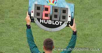 How many subs sides can use at Euro 2020