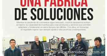 """Homenaje al ingenio """"antipandemia"""", en el suple de la Fundación - Diario de Cuyo"""