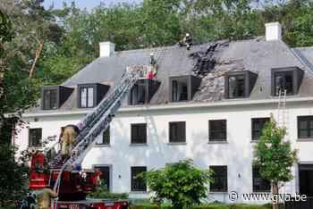 Dakbrand richt grote schade aan in luxevilla (Bonheiden) - Gazet van Antwerpen Mobile - Gazet van Antwerpen
