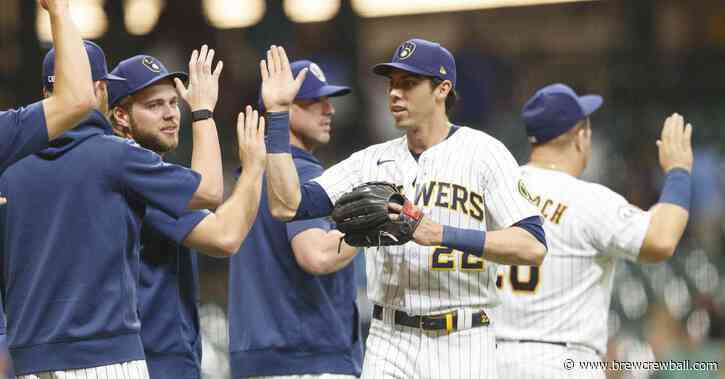 Woodruff, Yelich lead Brewers to 7-4 win over Pirates