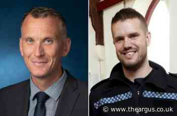 Sussex Police Steve Rayland and Chris Varrall in Queen's honours