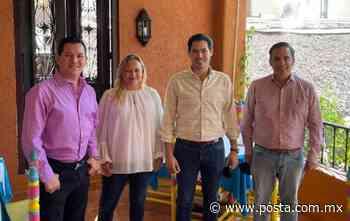 Se reúnen excandidatos con David de la Peña para trabajar por Santiago - POSTA