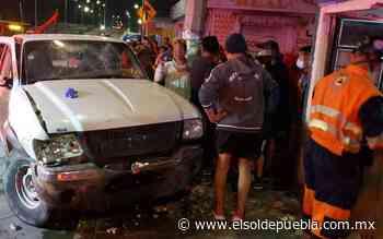 Fallece mujer atropellada por presuntos ebrios en Bosques de Santa Anita - El Sol de Puebla