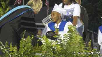 'I'm just happy I made it': Griffin Heights shooting survivor celebrates graduation from Godby HS - WCTV