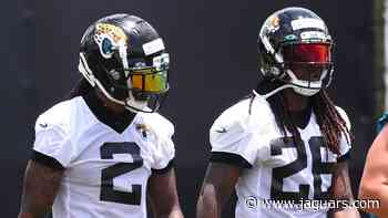 OTAs '21: Griffin, Jenkins teammates again - jaguars.com