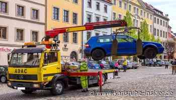 Autohasser schlitzt Reifen auf in Ettlingen - Die Polizei ermittelt! - Karlsruhe Insider
