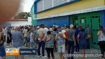 NE1 | Vacinação contra Covid-19 é suspensa em Igarassu Assista online - Gshow