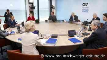 """Milliarden-Initiative: G7 kontert Chinas """"Neue Seidenstraße"""""""