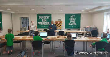 Werders U14 beim DWZ-Hybrid-Turnier