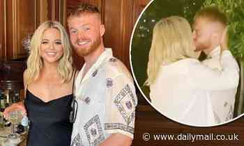 Emily Atack puts on a loved-up display with new entrepreneur boyfriend Jude Taylor