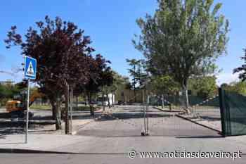 Obras de requalificação junto ao Cemitério Sul de Aveiro - Notícias de Aveiro