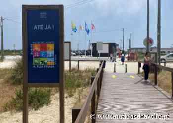 Aveiro: Bandeira Azul na Praia de S. Jacinto com apelo à proteção ambiental - Notícias de Aveiro