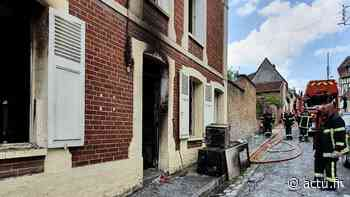 Les Andelys. Incendie en centre-ville : un jeune couple évacué vers Vernon - actu.fr