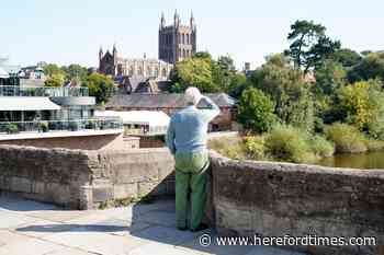 Imagine what the French would do with a riverside like Hereford's