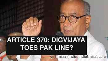 Clubhouse chat row: Digvijaya Singh again puts Congress in a spot
