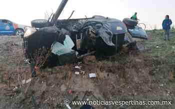 Vuelca en su camioneta en la Silao - San Felipe - Noticias Vespertinas
