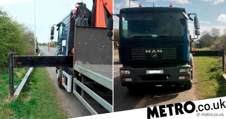 Teacher needed part of scalp stapled back on after truck ripped it off
