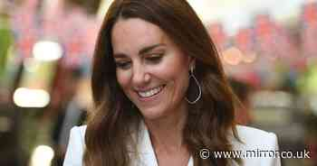 Kate Middleton pays tribute to Princess Diana with diamond and pearl bracelet
