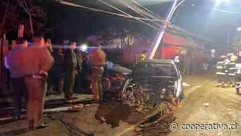 Accidentes de tránsito dejan a tres personas fallecidas en el Maule