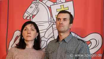 Eltern von Roman Protassewitsch appellieren an Merkel: »Bitte stoppen Sie Lukaschenko« - DER SPIEGEL
