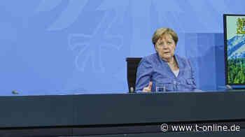 Angela Merkel wird emotional bei letzter Ministerpräsidentenkonferenz - t-online.de