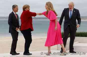 """G7-Gipfel mit Angela Merkel - """"Alle ins Wasser""""– bei diesen Fotos kommen Urlaubsgefühle auf - Stuttgarter Zeitung"""