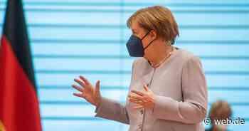 Angela Merkel warnt vor Ansteigen der Delta-Variante und kündigt Nachimpfungen an - WEB.DE News