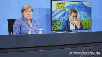 Pressekonferenz: Das sagt die Kanzlerin nach der Konferenz mit den Ministerpräsidenten - DER SPIEGEL