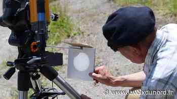 À Wormhout, l'éclipse partielle de soleil a ébloui le club d'astronomie - La Voix du Nord