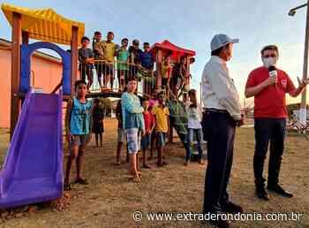 """Vilhena vive """"o pior momento da pandemia"""", mas prefeito inaugura parquinhos em praças com aglomeração de crianças – Extraderondonia.com.br - Extra de Rondônia"""