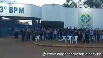 Mulheres de policias acampam em frente quartéis e reforçam movimento em Vilhena - Diário da Amazônia