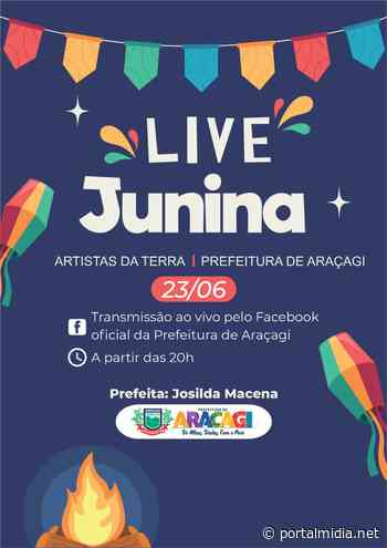 LIVE LOVE: Guarabira fará homenagem aos namorados com show virtual com artistas locais - PortalMidia