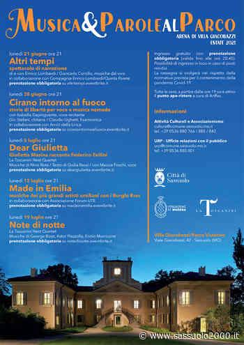 Musica & Parole al parco - sassuolo2000.it - SASSUOLO NOTIZIE - SASSUOLO 2000
