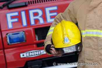 Three-vehicle crash in Herefordshire