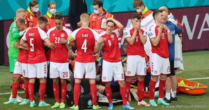 Dramma per Christian Eriksen agli Europei: a terra privo di sensi durante il match contro la Finlandia. Rianimato in campo, match sospeso