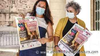 Ruta solidaria de ayuda a personas con TEA en Cáceres - El Periódico de Extremadura