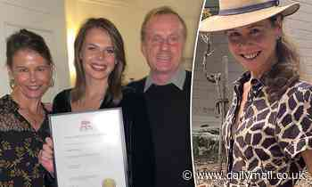 Nicole Kidman's sister Antonia congratulates her lookalike daughter Lucia as she graduates from uni - Daily Mail