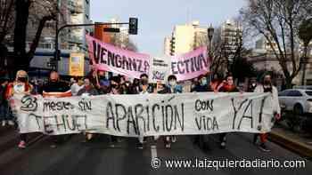 La Plata: movilización a 3 meses de la desaparición de Tehuel - La Izquierda Diario