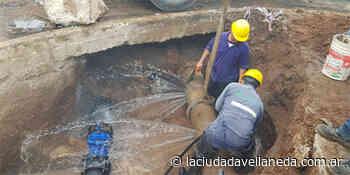 AySA realizó trabajos para mejorar la red de agua en Quilmes con renovación de cañería y recambio de válvulas - Diario La Ciudad de Avellaneda