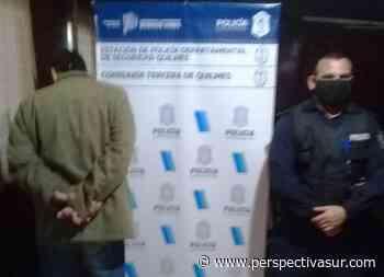 Detenido por robo en Quilmes Oeste - Perspectiva Sur