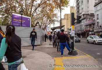 Puesta en valor de la Plaza Hipólito Yrigoyen de Quilmes - Agencia El Vigía