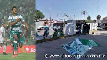 Colocan imagen de Eduardo 'Mudo' Aguirre en letras de San Pedro - El Siglo de Torreón