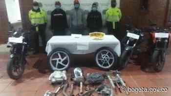 Autoridades capturan en el barrio Gustavo Restrepo a tres personas   Bogota.gov.co - Alcaldía de Bogotá