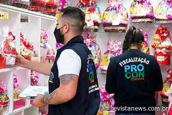 Procon Canoas intensifica fiscalização para o Dia dos Namorados - Revista News