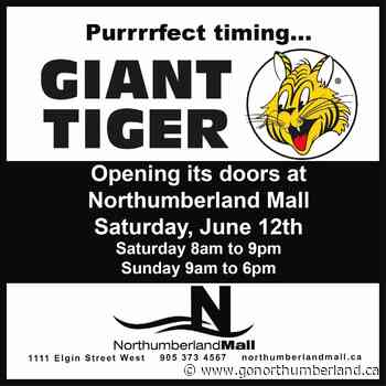 Giant Tiger to open in Cobourg Saturday - 93.3 myFM