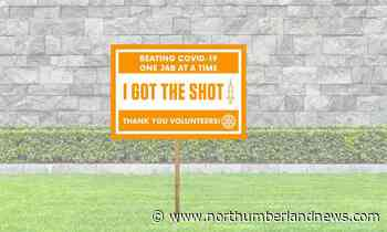 'I Got the Shot' vax lawn sign campaign: Rotary Club of Cobourg calling on Northumberland to help - northumberlandnews.com