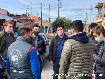 Quilmes: autoridades de la Juventud Pro en la IAPI - Cuatro Medios