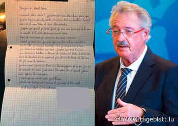 14-jährige Einwanderin aus Moria bedankt sich per Brief bei Jean Asselborn - Tageblatt.lu - Tageblatt online