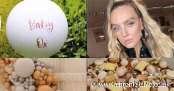 Perrie Edwards hints at gender reveal with lavish baby shower